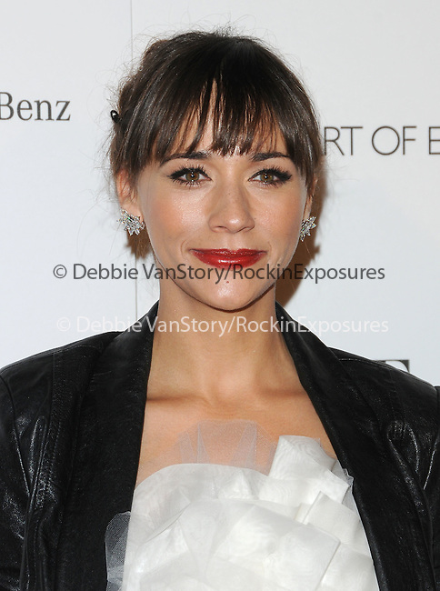 """Rashida Jones attends the Art of Elysium 4th Annual Charity Gala """"Heaven"""" held at The Annenberg Building at The California Science Center in Los Angeles, California on January 15,2011                                                                               © 2010 DVS / Hollywood Press Agency"""