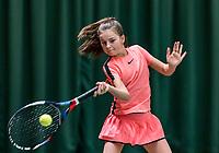 Wateringen, The Netherlands, March 14, 2018,  De Rhijenhof , NOJK 14/18 years, Rose Marie Nijkamp (NED)<br /> Photo: www.tennisimages.com/Henk Koster