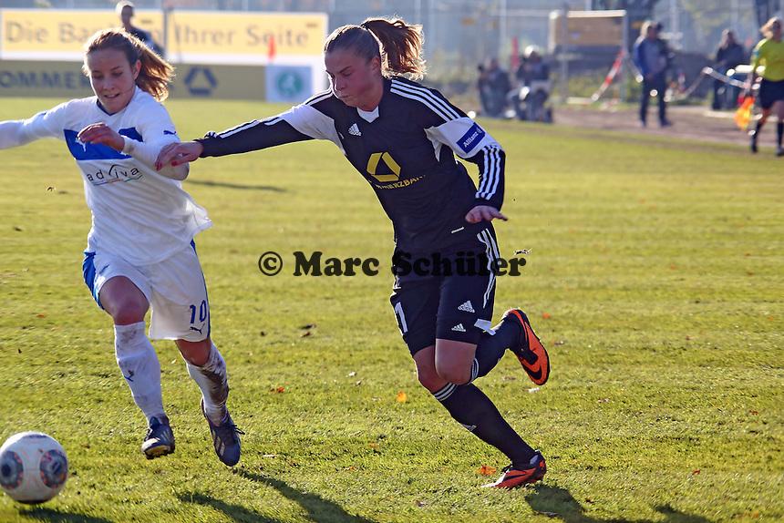 Anamaria Crnogorcevic (FFC) gegen Sabine Stoller (Hoffnheim) - 1. FFC Frankfurt vs. TSG 1899 Hoffenheim