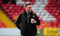 Notts County manager Kevin Nolan&nbsp;during the pre-match warm-up<br /> <br /> Photographer Andrew Vaughan/CameraSport<br /> <br /> The EFL Sky Bet League Two - Lincoln City v Notts County - Saturday 13th January 2018 - Sincil Bank - Lincoln<br /> <br /> World Copyright &copy; 2018 CameraSport. All rights reserved. 43 Linden Ave. Countesthorpe. Leicester. England. LE8 5PG - Tel: +44 (0) 116 277 4147 - admin@camerasport.com - www.camerasport.com