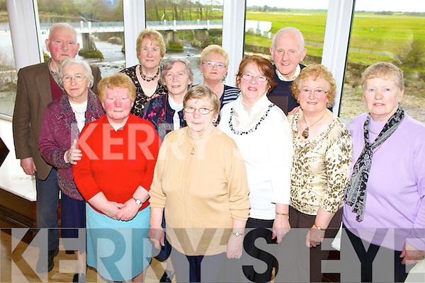 Enjoying the Tea Dance in The Listowel Arms Hotel on Sunday were Mary Heaphy, Lil Keane, Kitty Twomey. Sr. Kyran,  and Maureen ? Lixnaw. Philomena Ryan,  Roseleen Brosnan, Kilflynn, John O'Hanlon, Bridget McCarthy, Bernie Cahill and Matt O'Connor, Lixnaw .
