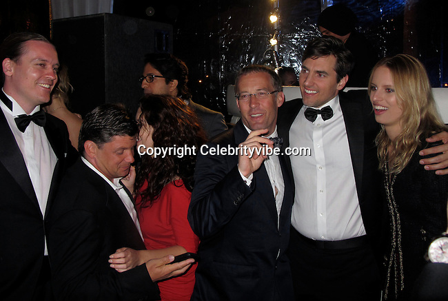 **EXCLUSIVE**.Omar Amanat, Skype founder, Wladimir Klitschko, Boxer, and Karolina Kurkova, Model..Wall Street: Money Never Sleeps Premiere Post Party - Inside..Cannes Film Festival..Villa in La Californie..Cannes, France..Friday, May 14, 2010..Photo ByCelebrityVibe.com.To license this image please call (212) 410 5354; or Email:CelebrityVibe@gmail.com ;.website: www.CelebrityVibe.com.