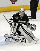 Hayden Hawkey (PC - 31) - The Harvard University Crimson defeated the Providence College Friars 3-0 in their NCAA East regional semi-final on Friday, March 24, 2017, at Dunkin' Donuts Center in Providence, Rhode Island.