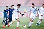 Japan vs Uzbekistan during the AFC U23 Championship China 2018 Quarter-finals match at Jiangyin Stadium on 19 January 2018, in Jiangyin, China. Photo by Yu Chun Christopher Wong / Power Sport Images