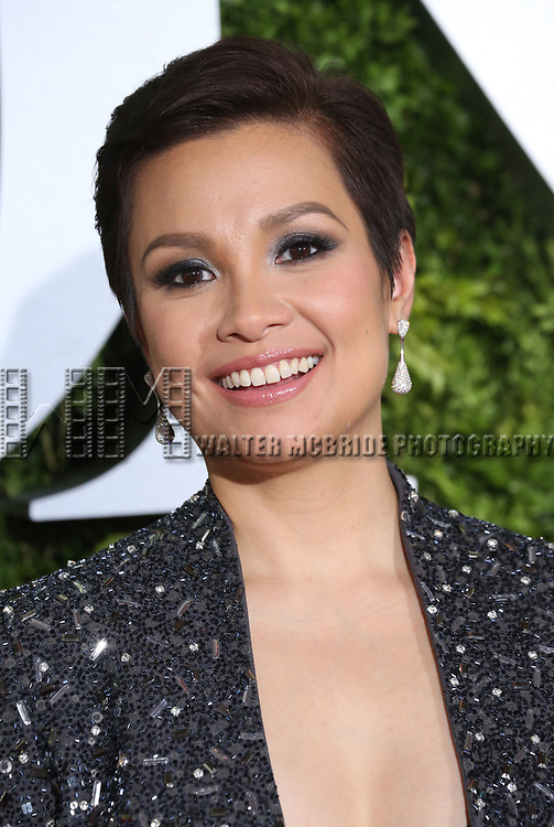 Lea Salonga attends the 71st Annual Tony Awards at Radio City Music Hall on June 11, 2017 in New York City.