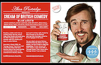 Alan Partridge presents Cream of British Comedy - DVD, cover - Teenage Cancer Trust - Unique Facilities, Lisson Street, London NW1 - 21st July 2005