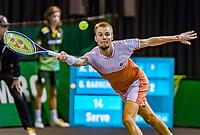 Rotterdam, The Netherlands, 11 Februari 2020, ABNAMRO World Tennis Tournament, Ahoy, <br /> Alexander Bublik (KAZ), <br /> Photo: www.tennisimages.com