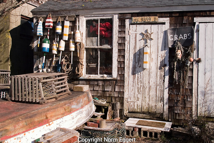 A fishing shack at Rockport Harbor, Rockport, MA