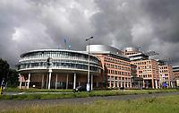 Nederland - Zaandam-  2020.    Het hoofdkantoor van Albert Heijn. Ahold Delhaize.  Foto : ANP/ Hollandse Hoogte / Berlinda van Dam
