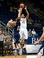 Allen Crabbe of California shoots the ball during the game against San Diego at Haas Pavilion in Berkeley, California on November 1st, 2011.  California defeated San Diego, 88-53.