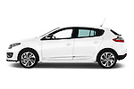2014 Renault Megane Bose Edition 5-Door Hatchback Driver side profile view Stock Photo