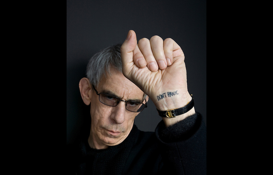 "Richard Belzer photographed for the Creative Coalition ""It Starts with the Arts"" Project"