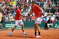Tenis 2018 Copa Davis Chile vs Ecuador Dobles