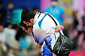 (L to R) Yukiko Akaba (JPN), Syuhei Akaba,.MARCH 11, 2011 - Marathon : Nagoya Women's Marathon 2012 Start & Goal at Nagoya Dome, Aichi, Japan. (Photo by Jun Tsukida/AFLO SPORT)[0003].