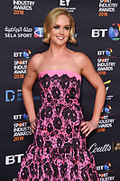 Amanda Davies<br /> arriving for the BT Sport Industry Awards 2018 at the Battersea Evolution, London<br /> <br /> ©Ash Knotek  D3399  26/04/2018