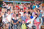PARTY HARTY: Mark O'Shea, Caheranne, Tralee (seated centre) enjoying a great time celebrating his 21st birthday with a large group of family and friends at the Huddle bar, Tralee on Saturday.