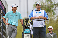 Kevin Kisner (USA) waits for Alex Noren (SWE) to tee off on 12 during a playoff with Alex Noren (SWE) during day 5 of the World Golf Championships, Dell Match Play, Austin Country Club, Austin, Texas. 3/25/2018.<br /> Picture: Golffile | Ken Murray<br /> <br /> <br /> All photo usage must carry mandatory copyright credit (&copy; Golffile | Ken Murray)