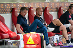 enttäuscht / enttaeuscht / traurig Frank Baumann (Geschäftsführer Fußball Werder Bremen), Tim Borowski (Co-Trainer SV Werder Bremen)<br /> <br /> <br /> Sport: nphgm001: Fussball: 1. Bundesliga: Saison 19/20: 33. Spieltag: 1. FSV Mainz 05 vs SV Werder Bremen 20.06.2020<br /> <br /> Foto: gumzmedia/nordphoto/POOL <br /> <br /> DFL regulations prohibit any use of photographs as image sequences and/or quasi-video.<br /> EDITORIAL USE ONLY<br /> National and international News-Agencies OUT.