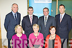 Attending the Bank of Ireland Show Your Business week Inspiration to Success conference in the Bank of Ireland Killarney on Wednesday was front row l-r: Caroline Crowley, Denise Mullane, Siobhian Kissane. Back row: Dave McDonnell, Liam Sheehy, John Keegan and JT O'Sullivan
