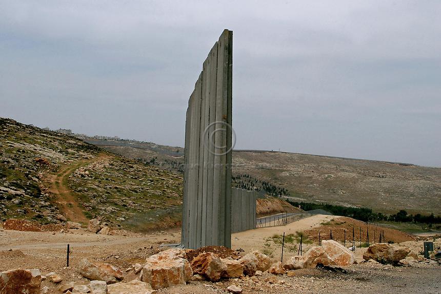 Separating Wall, West Bank. May 2006.