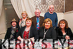 Members of staff of Listowel District Hospital enjoying their Christmas party at Eabha Joan's Restaurant, Listowel on Friday night last. Front: Donal Kennedy, Frances Kennedy, Carmel Carolan & Margaret Taylorson. Back : Nora Collins, Patsy Kennedy & Robert Barry.
