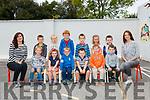 Junior Infants - R&eacute;alt na Mara School - 04/09/18 <br /> <br /> Front Row L-R: Oliver Skelton, Aoibheann and P&aacute;draig O'Sullivan, Conor Gallivan, Fionn Veldhoen and Matthew O'Sullivan <br /> Back Row L-R: Tony Rousseau, Julia Holbein, John McCarthy, Cory Murphy, Laoise Smyth and Miche&aacute;l Browne <br /> <br /> SNA (left) Mary Donegan <br /> Teacher (right) Jane Sayers