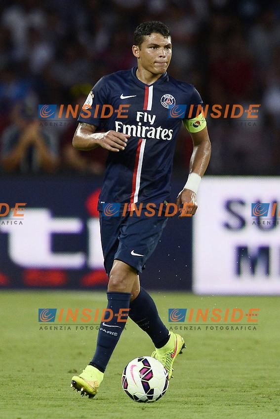 Thiago Silva PSG <br /> Napoli 11-08-2014 Stadio San Paolo <br /> Amichevole Calcio 2014/2015 Napoli - PSG Paris Saint Germain <br /> Foto Daniele Bugga / Imagesport / Insidefoto