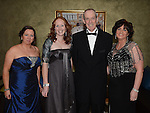 Joanne Cooney, Louise McEnteggart, Mark and Sophie Moloney pictured at the Fingal Harriers Hunt Ball held in the d hotel Drogheda. Photo:Colin Bell/pressphotos.ie