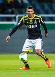 Solna 2013-09-30 Fotboll Allsvenskan AIK - &Ouml;sters IF :  <br /> AIK 11 Nabil Bahoui <br /> (Foto: Kenta J&ouml;nsson) Nyckelord:  portr&auml;tt portrait