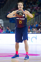 FC Barcelona Lassa Petteri Koponen during Liga Endesa match between Estudiantes and FC Barcelona Lassa at Wizink Center in Madrid, Spain. October 22, 2017. (ALTERPHOTOS/Borja B.Hojas) /NortePhoto.com