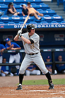 April 25 2010: Erik Huber (23) of the Bradenton Marauders during a game vs. the St. Lucie Mets  at Digital Domain Park in Port St. Lucie, Florida. St. Lucie, the Florida State League High-A affiliate of the New York Mets, won the game against Bradenton, affiliate of the Pittsburgh Pirates, by the score of 5-4  Photo By Scott Jontes/Four Seam Images