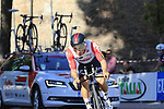 Caleb Ewan (AUS) Lotto-Soudal in action during Stage 1 of the 2019 Giro d'Italia, an individual time trial running 8km from Bologna to the Sanctuary of San Luca, Bologna, Italy. 11th May 2019.<br /> Picture: Eoin Clarke | Cyclefile<br /> <br /> All photos usage must carry mandatory copyright credit (© Cyclefile | Eoin Clarke)
