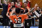 09.03.2019,  Lueneburg GER, VBL, SVG Lueneburg vs Berlin Recydling Volleys im Bild die Berliner Mannschaft jubelt/ Foto © nordphoto / Witke