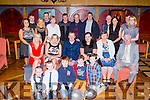 Orla Coffey, Scartaglen and Donal Horgan, Kilcummin celebrated their engagement with their family and friends in the KIllarney Avenue Hotel on Saturday night