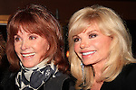 LOS ANGELES - DEC 4: Stefanie Powers, Loni Anderson at a party hosted by The Actors Fund after a performance of 'White Christmas' at the Pantages Theater on December 4, 2016 in Los Angeles, California