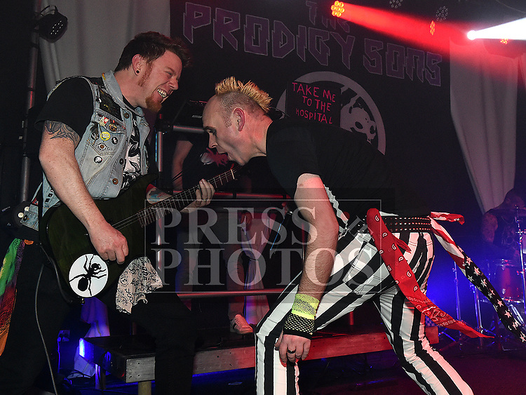 The Prodigy Sons, who played at thefundraiser for Ella Hewitt in The Crescent Concert Hall. Photo:Colin Bell/pressphotos.ie