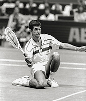 Feb 14, 1984, Netherlands, Rotterdam, Ahoy, Michiel Schapers (NED)<br /> Photo: Tennisimages/Henk Koster
