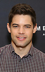 "Jeremy Jordan attends the Cast photo call for the New Broadway Play ""American Son"" on September 14, 2018 at the New 42nd Street Studios in New York City."