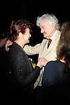 """SANTA MONICA -FEB 11: Hal Holbrook, Alba Francesca at """"Hal Holbrook in Mark Twain TONIGHT!,"""" a benefit for The Actors Fund, at The Broad Stage on February 11, 2016 in  Santa Monica, California"""