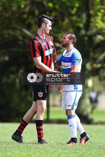 NELSON, NEW ZEALAND - OCTOBER 2: Pre-season friendly Tasman United v Richmond AFC at Jubilee Park on October 2, 2016 in Nelson, New Zealand. (Photo by: Chris Symes/Shuttersport Limited)
