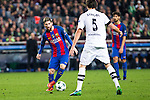 FC Barcelona's Leo Messi, VfL Borussia Monchengladbach's Tobias Strobl during Champions League match between Futbol Club Barcelona and VfL Borussia Mönchengladbach  at Camp Nou Stadium in Barcelona , Spain. December 06, 2016. (ALTERPHOTOS/Rodrigo Jimenez)