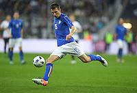 FUSSBALL INTERNATIONAL TESTSPIEL IN DER ALLIANZ ARENA MUENCHEN Deutschland - Italien    29.03.2016  Francesco Acerbi (Italien)