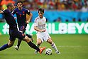 David Silva (ESP), <br /> JUNE 13, 2014 - Football /Soccer : <br /> 2014 FIFA World Cup Brazil <br /> Group Match -Group B- <br /> between Spain 1-5 Netherlands <br /> at Arena Fonte Nova, Salvador, Brazil. <br /> (Photo by YUTAKA/AFLO SPORT) [1040]