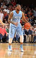 North Carolina guard Leslie McDonald (2) during an NCAA basketball game Monday Jan. 20, 2014 in Charlottesville, VA. Virginia defeated North Carolina 76-61.