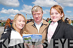 FORM: Checking out the form at the Tralee Races on Sunday were Paula and Eugene McCarthy, Athea and Denise Holly, Ballybunion. .