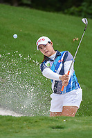 Moriya Jutanugarn (THA) hits from the trap on 13 during round 2 of the U.S. Women's Open Championship, Shoal Creek Country Club, at Birmingham, Alabama, USA. 6/1/2018.<br /> Picture: Golffile | Ken Murray<br /> <br /> All photo usage must carry mandatory copyright credit (&copy; Golffile | Ken Murray)