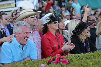 HALLANDALE BEACH, FL - JANUARY 28:  Scenes from Pegasus World Cup Invitational Day at Gulfstream Park on January 28, 2017 in Hallandale Beach, Florida. (Photo by Liz Lamont/Eclipse Sportswire/Getty Images)
