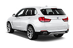 Car pictures of rear three quarter view of 2017 BMW X5 xDrive40e 5 Door SUV Angular Rear