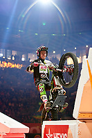 2nd February 2020; Palau Sant Jordi, Barcelona, Catalonia, Spain; X Trail Mountain Biking Championships; Jaime Busto (Spain) of the Vertigo Team in action during the X-Trail indoor Barcelona