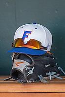 Florida Gators hat on June 19, 2015 at TD Ameritrade Park in Omaha, Nebraska. (Andrew Woolley/Four Seam Images)